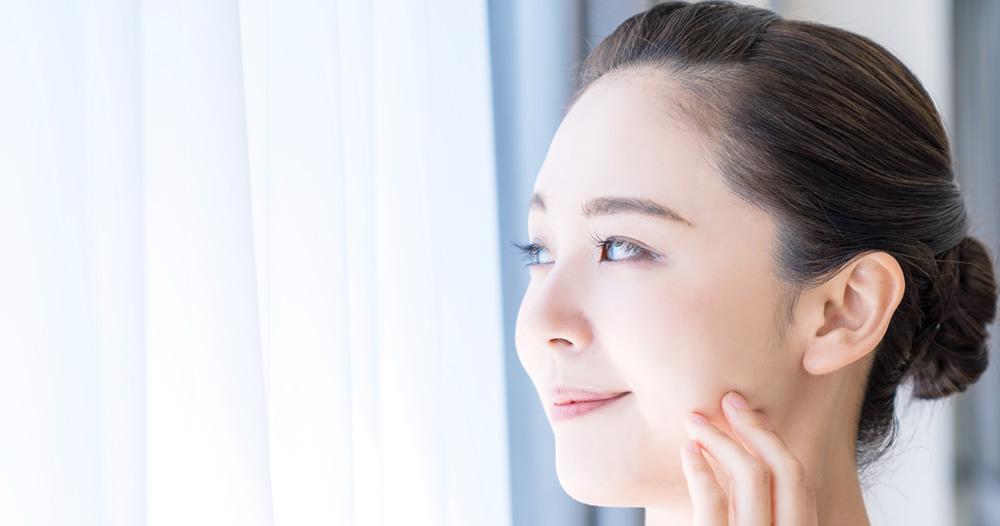 シミ・肝斑-シミ全般を改善させ、肌の老化予防をし、シミのない透明感のある輝く素肌に。